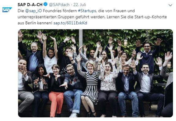Social Media B2B Marketing Twitter Best Practice SAP